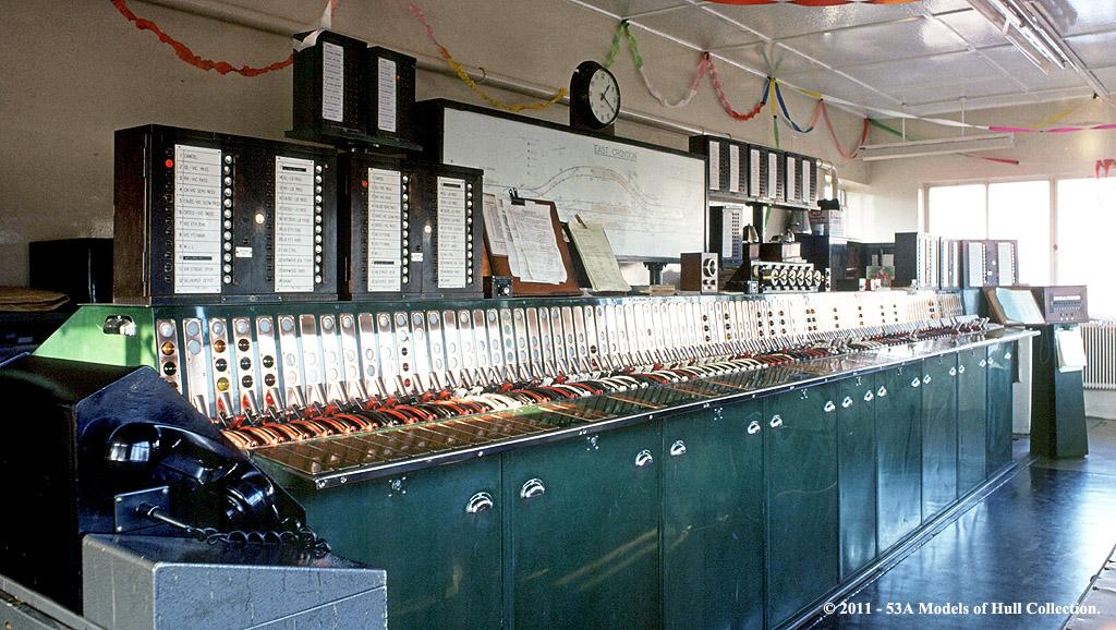 East Croydon Signal Box