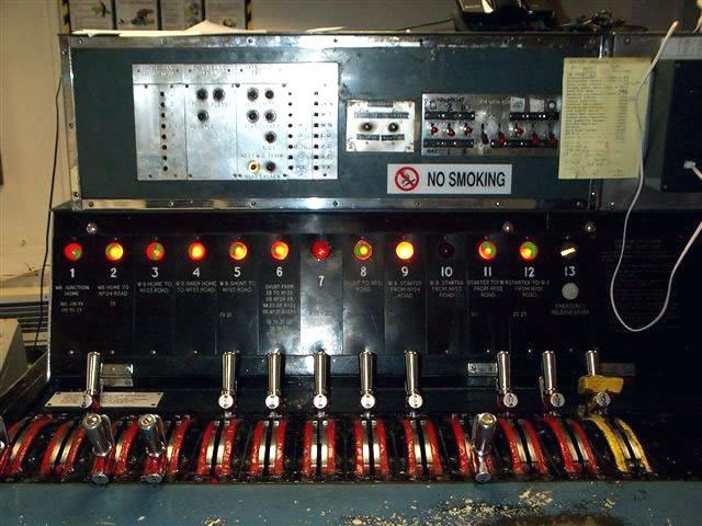 Old Control Panel Levers : Westinghouse brake saxby signal co ltd whitechapel
