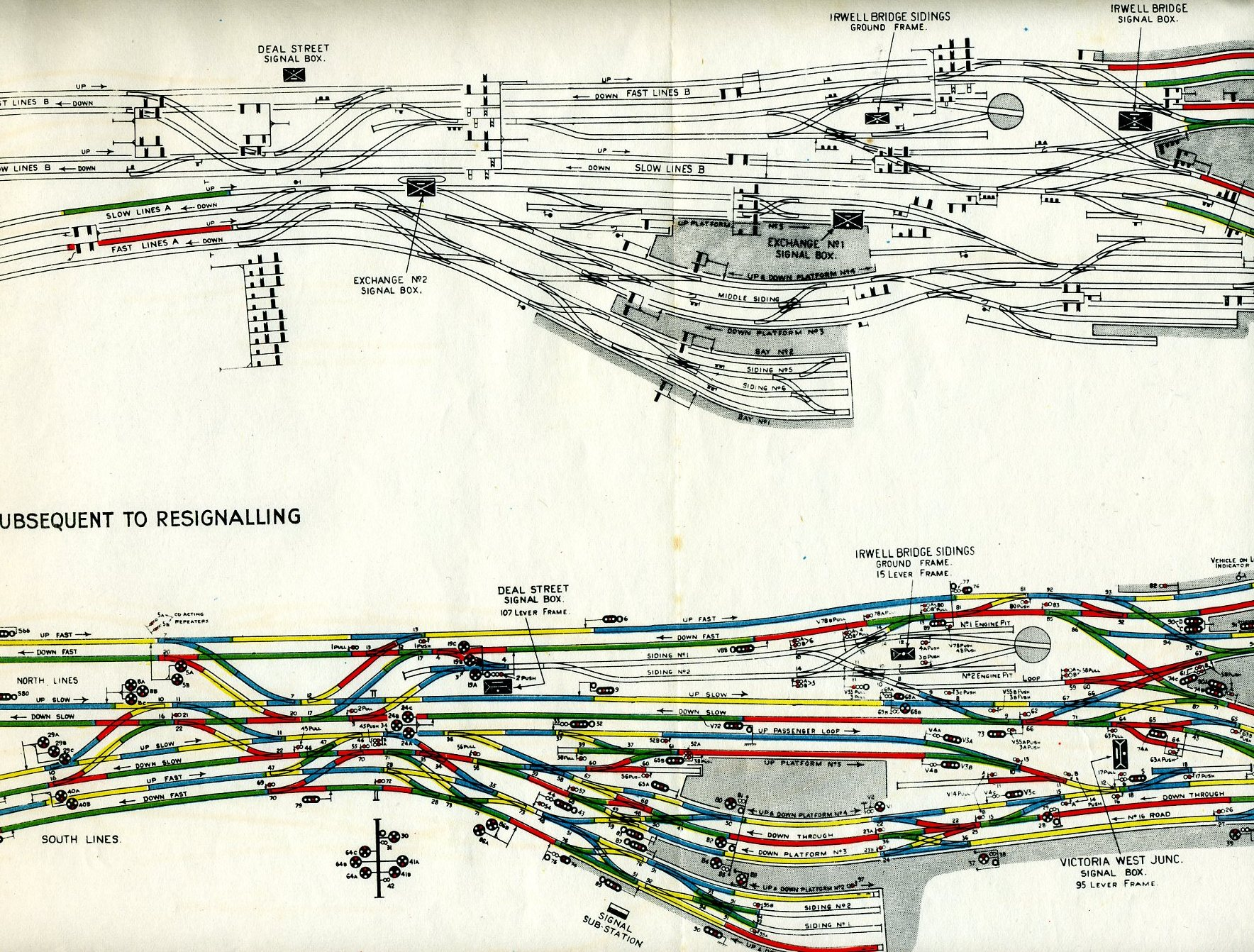 Westinghouse Brake Saxby Signal Co Ltdmanchester Victoria West Plans For Train Track Wiring Plan